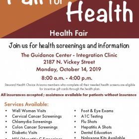 Health Fair Event at TGC!
