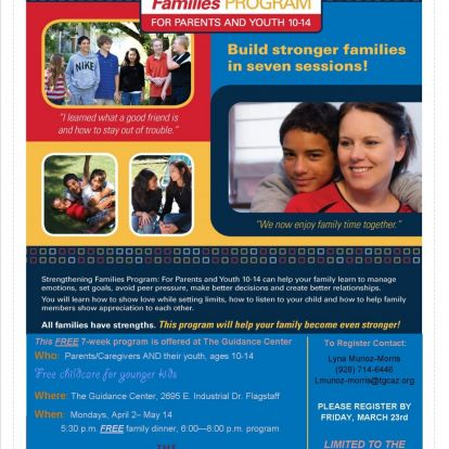 Strengthening Families Program Returns to TGC!